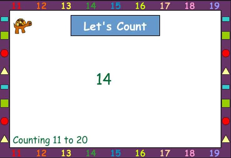 Let's count Together 11-20