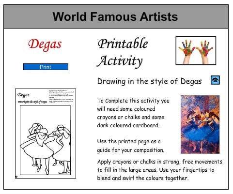 Inspired by Degas