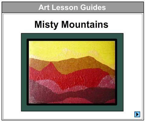Misty Tissue Landscape